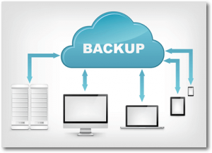 Backup nei nostri server al sicuro