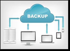 Backup nei nostri server al sicuro